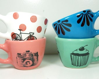 SLIGHTLY UNSIGHTLY SALE - 12oz cups/mugs - pick your print