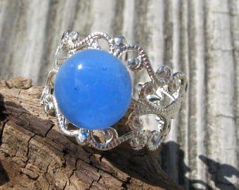 Razzleberry Fizz Filigree Ring