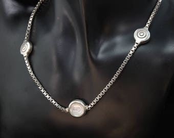Vintage! Sterling Silver Lisa Jenks Necklace