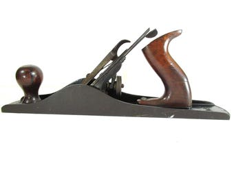 Stanley Bailey No. 5 Woodworking Plane Old Vintage Hand Tool Tools