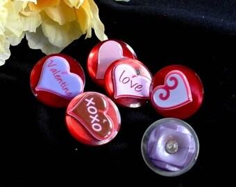 Eclipse Sale Button Heart Thumbtacks Pushpins Button Tacks, Valentines Pink Red Heart Thumb Tacks Push Pins, Valentines Day Gift, Gift For H