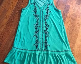 Garden Goddess dress sz L by im.butterflycreations