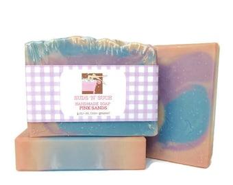 Pink Sands Handmade Soap - Artisan Olive Oil Soap