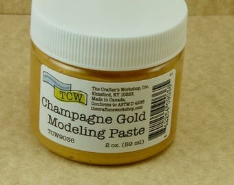 TCW Modeling Paste Champagne Gold   2 oz