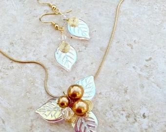 ON SALE Midsummer Woodland Fairy Jewelry Set