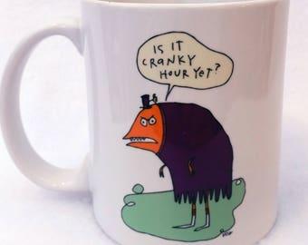 Cranky Hour  - monster mug