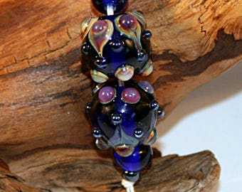 Lampwork  Art Beads by Jeanniesbeads #3050