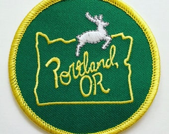 Portland, Oregon Iron-on Patch - 3 inches