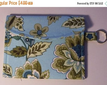 SALE Wallet Sewing Pattern pdf - Instant Download - Aivilo Key Chain Coin Purse / Pouch Wallet - very quick and easy
