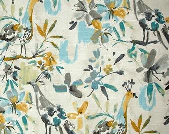 Bird curtains Kelly Ripa curtains flora flaunt pool curtains floral curtains bird decor