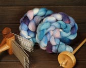 Corriedale, Combed Top, Spinning Fiber, Hand Dyed, Roving, Felting, Spinning, Hand Spinning, Fiber Arts