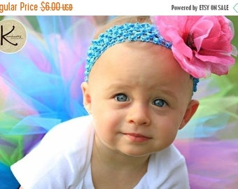 SUMMER SALE 20% OFF Custom Matching Flower Headband - made to match your tutu