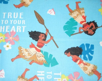 Disney Moana Fabric Etsy