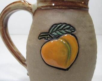 Peach mug                   ...............                  a53