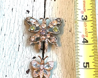 Vintage Butterfly Pins - Jewelry Supply