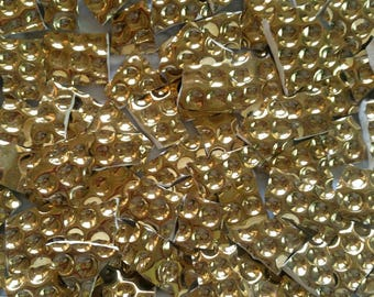 Mosaic Tiles---Gold Honeycomb no.2--Hard to find---50 Tiles