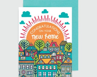 Congratulations Card - New Home