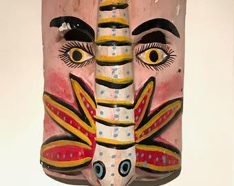 Mexican Folk Art Dragonfly MASK