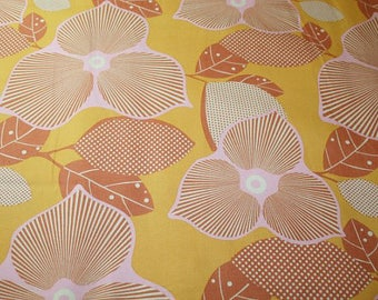 "Last Piece 1 Yard + 33"" ~ Amy Butler Midwest Modern 2 Optic Blossom in Gold ab27-gold"