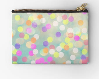 carry all pouch-colorful and fun phone holder-school supplies carry all-pencil case-cosmetic bag-make up bag-holiday gift for teen girls