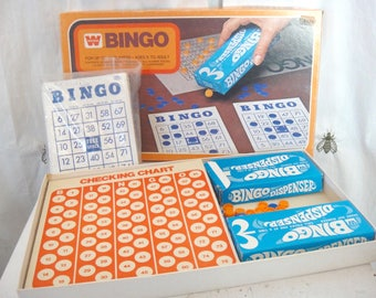 Vintage Bingo Game, Bingo Cards, Family Game Night, Childhood Memories, Whitman, Crafting, Decor, Game Pieces