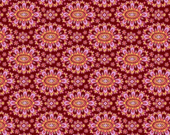 FAT QUARTER - Amy Butler Fabric, Eternal Sunshine, Cloisonne, Cabernet, cotton quilting fabric