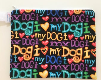 Love My Dog Waterproof Wet Bag ProCare PUL Lining 10x8