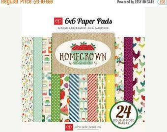 ON SALE Echo Park Homegrown 6x6 Paper Pad