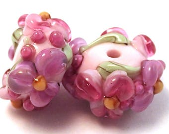 May Day Pink Floral Spacers