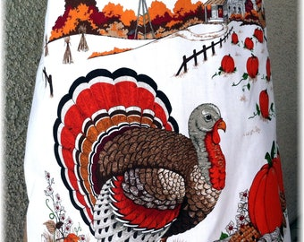 THANKSGIVING TURKEY APRON - Full