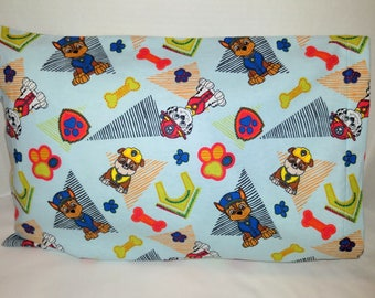 Paw Patrol Toddler SIze Pillowcase
