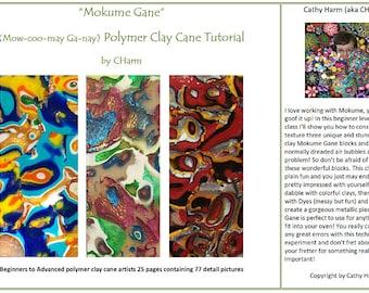 Mokume Gane polymer clay cane tutorial by CHarm