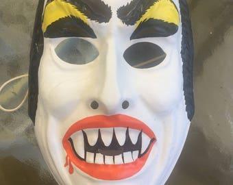 Vintage Halloween Mask Monster