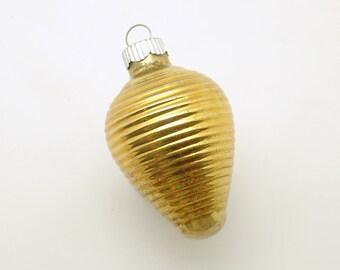 Vintage Christmas Glass Ornament Shiny Brite Lantern