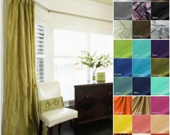 Tara Taffeta Lined Drape- you pick the color