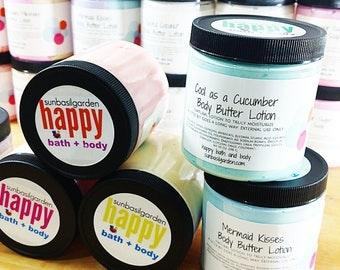 Gift for Him. Gift for Her. Moisturizer. BUTT NAKED Body Butter. Small Jar, Beach. Summer. Fruity. Gift for Her. Best Friend Gift. Birthday