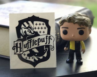 Harry Potter Inspired Hufflepuff House Crest Car, Laptop, or Decor Vinyl Decal
