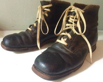 Vintage GH Bass Leather Shoes Boots