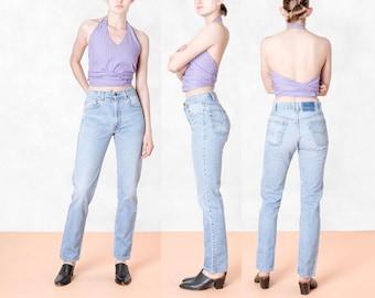 LEVIS 505 BOYFRIEND JEANS high waist vintage denim levi strauss / Size 7 8 / waist 29 30 / better Stay together