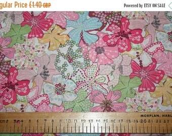 "SUMMER SALE Liberty Tana Lawn ""MAUVEY"" pastel pink 20 x 20cm (8 x 8"")"