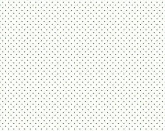 Swiss Dot On White Clover  (C660-Clover)
