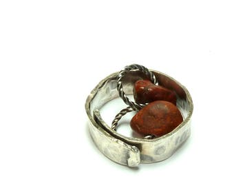 Genuine Drilled Beach Stones Focal Jewelry Beads RAISINETTES Authentic Beach Pebbles Set Earring Pair River Rocks Charms