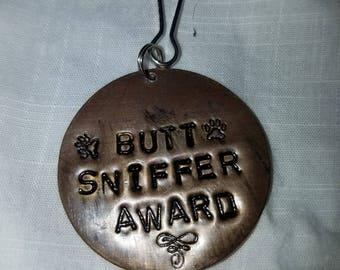 Butt sniffer award