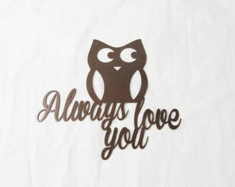 Owl Always Love You Wall Art