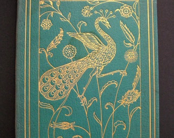 1934 Rubaiyat of Omar Khayyam leather bound illustrated Willy Pogany  tipped in plates first printing by George Harrap