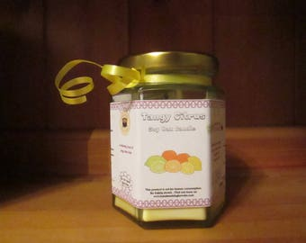 Tangy Citrus 300g Soy Wax Candle