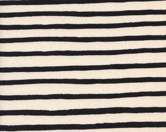 ON SALE Cheshire Stripe White - Wonderland - Anna Bond Rifle Paper Co - Cotton + Steel - 8022-02