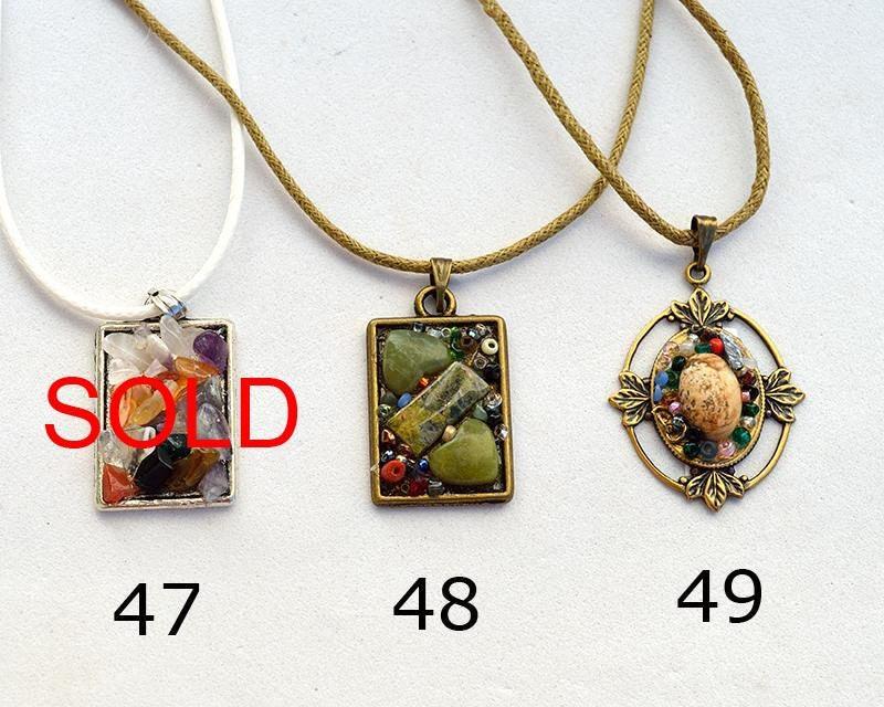 Mosaic pendant necklace treasury chest gemstone mosaic jewelry frame mosaic pendant necklace treasury chest gemstone mosaic jewelry frame necklace colorful pendant framed stone pendant made aloadofball Choice Image