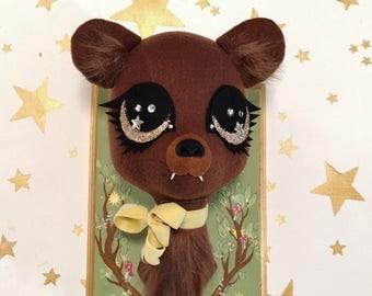 Brown Bear Faux Taxidermy