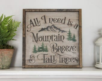 Wooden Wall Sign - Wooden Wall Decor - Wood Sign - Rustic wood sign - Cabin sign - Lake house sign -rustic home decor sign